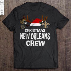 Christmas New Orleans Crew TShirt