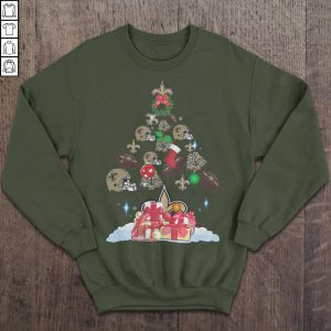 Saints Christmas Tree – Christmas Sweater TShirt